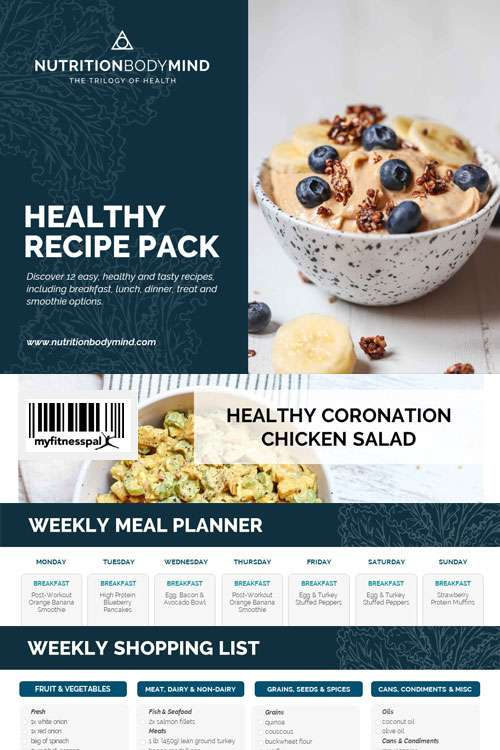 free healthy recipe pack