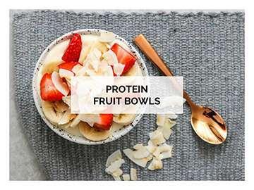protein fruit bowl