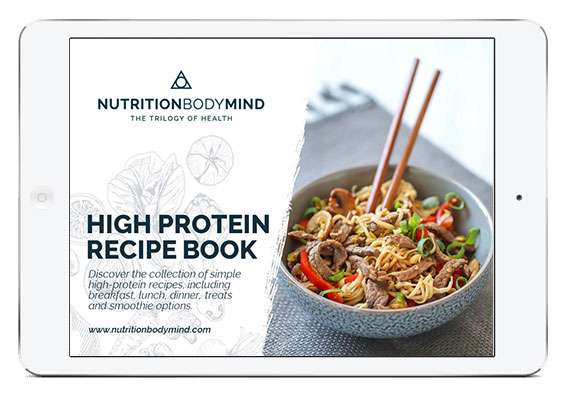 high protein recipes ipad